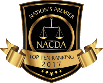Top 10 Ranking Defense Attorney 2017